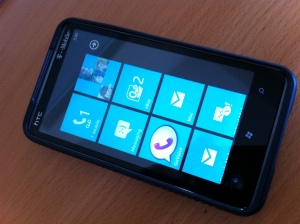 Windows Mobile 7 - Main Screen