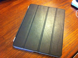 iPad2 optional cover in leather