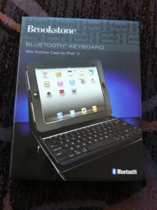 Brookstone Bluetooth Keyboard & Case